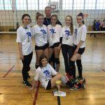 Tallinna Humanitaargümnaasiumi neiud on võrkpallis võitmatud